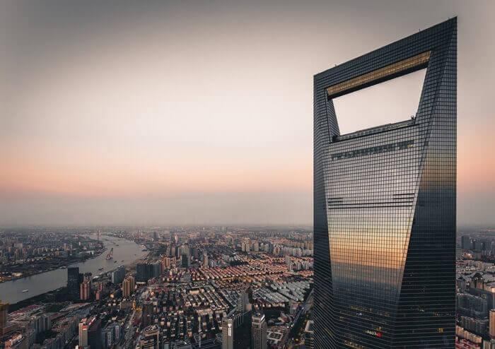 Shanghai World Financial Center Karakteristik Tasarımı