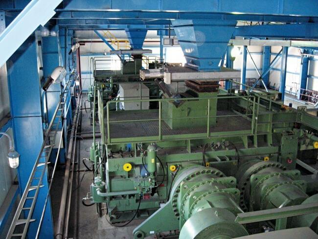 Roller Press Çimento Değirmeni