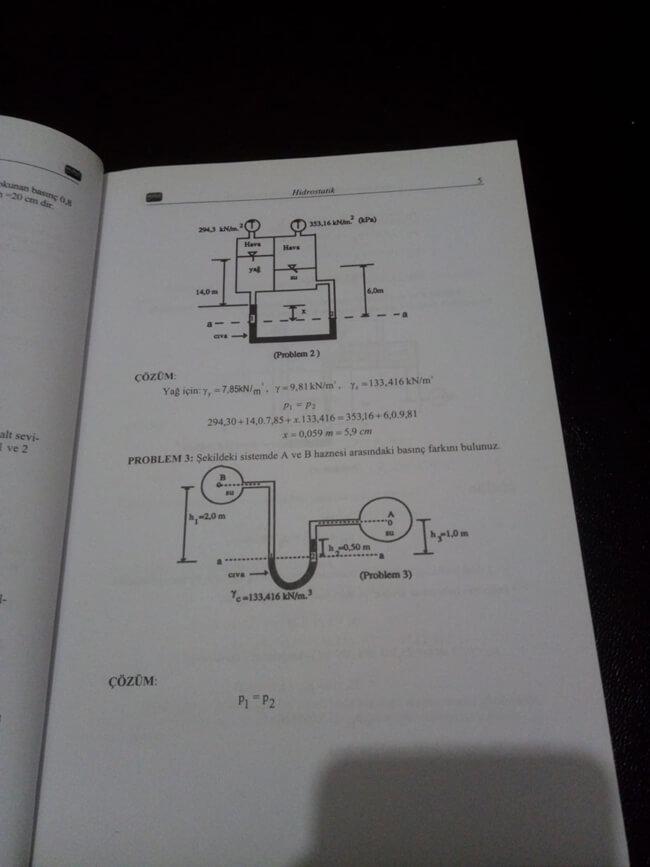 Kitaba ait örnek bir sayfa.