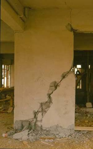 Kesme kırılması kolon