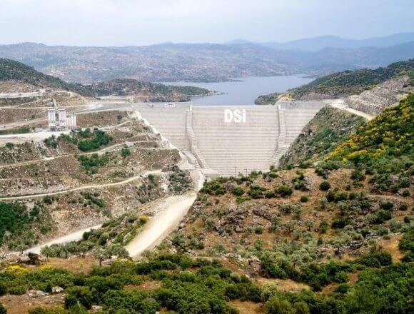 Aydın çine barajı