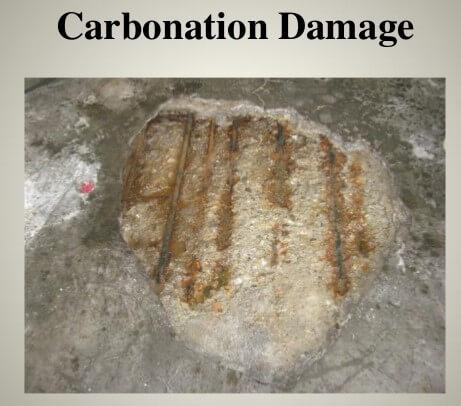 Karbonatlaşma hasarı