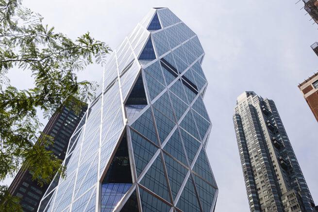Hearst kulesi cam çelik yapı