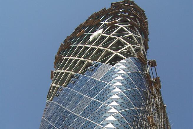 Cam çelik yapılar